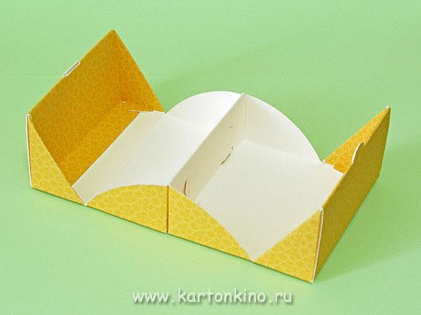 Коробочка с бумаги своими руками
