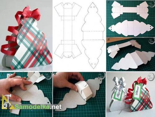 Упаковка из картона для подарка своими руками
