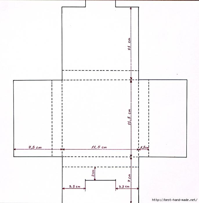 Как сделать коробочку из картона шаблон - Ubolussur.ru