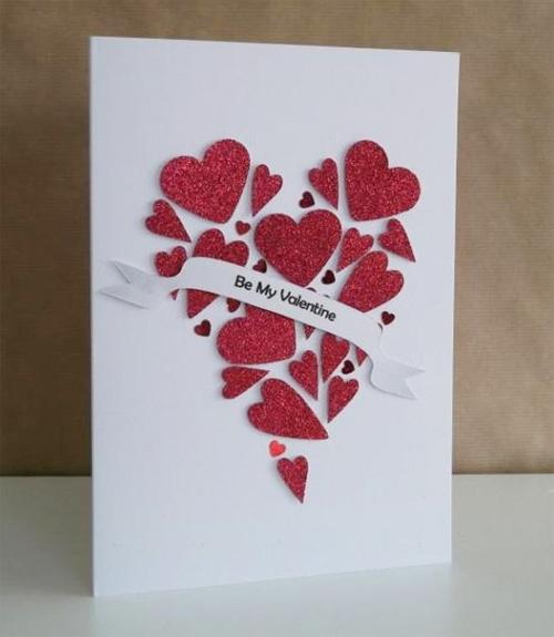 нестандартные открытки с днем святого валентина они подогреваются стороны